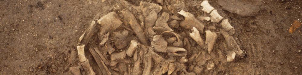kaivauksilta löytynyt luukätkö