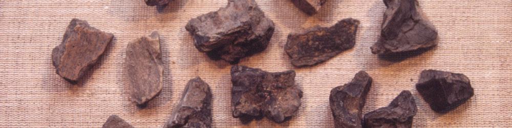 kaivauslöytönä savitiivistettä